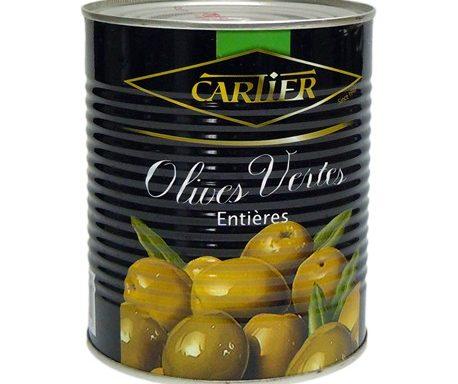 Olives Vertes entières 860g CAR002
