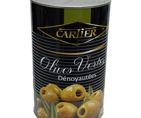 Olives Vertes dénoyautées 4200g CAR004
