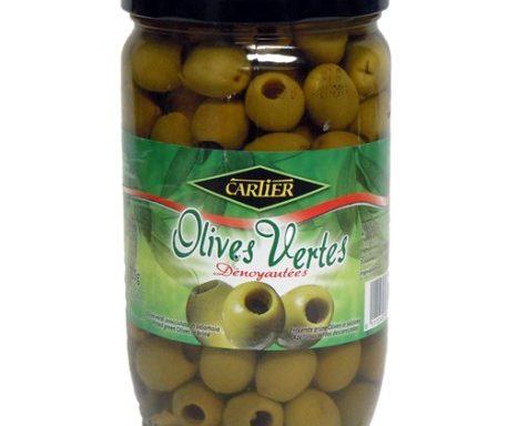 Olives Vertes dénoyautées 720g