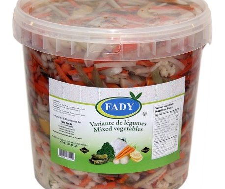 Variante de légumes (Seau)