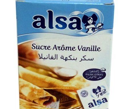 Alsa sucre arome vanille
