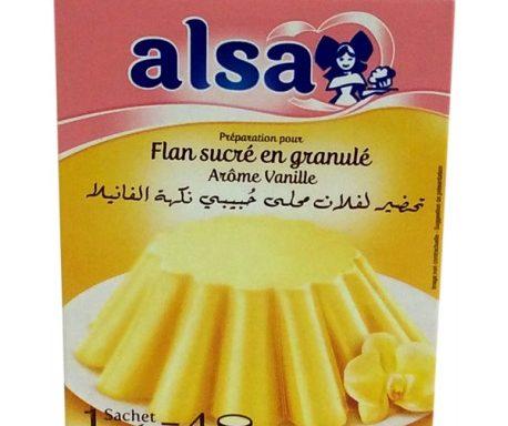 Alsa flan arome vanille