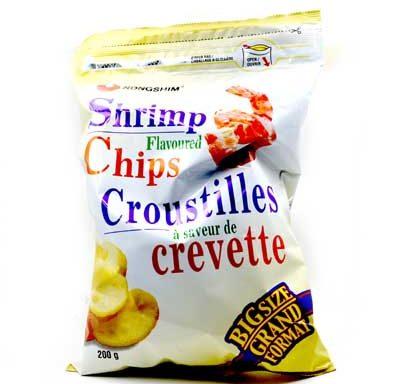 NS CHIPS A SAVEUR DE CREVETTE 10704