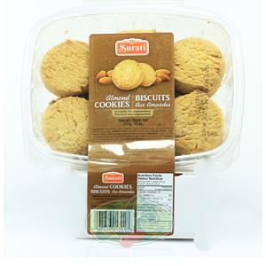 Biscuits Surati aux Amandes