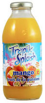 Boisson Tropik Splash Mangue-Fruit de la passion
