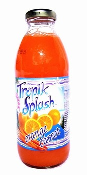 Boisson Tropik Splash Orange-Carrotte
