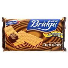 Gaufrettes Bridge Chocolate Colombina