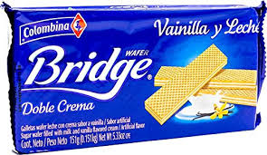 Gaufrettes Bridge vanilla Colombina