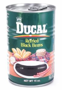 Haricots noirs frits Ducal