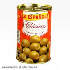 Olives farcies aux anchois La Espanola