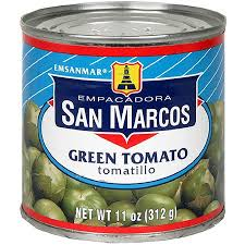 Tomates verts San Marcos