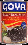 Soupe de haricots noirs