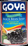 Soupe aux haricots noirs réduite en sodium
