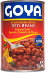 Haricots rouges de style colombien