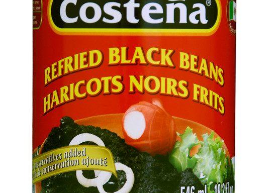 Haricots noirs frits La Castena