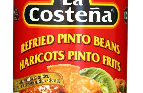 Haricots Pinto frits La Castena