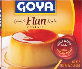 Flan au caramel Goya