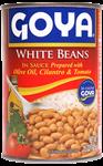 Haricots blancs en sauce