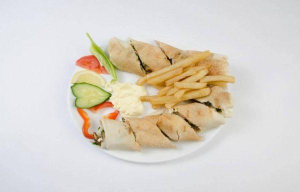 Assiette Tawouk Arabic