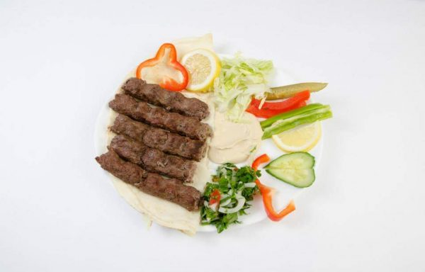 Assiette Kabab