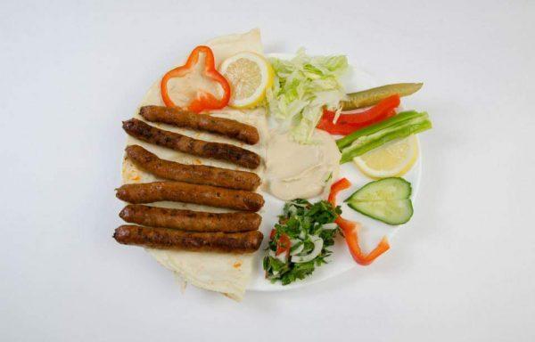 Assiette Merguez