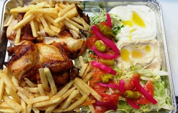 Assiette de poulet