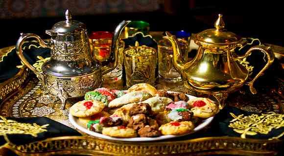 Ensemble à thé marocain 2