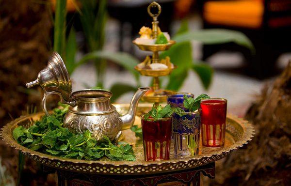 Ensemble à thé marocain