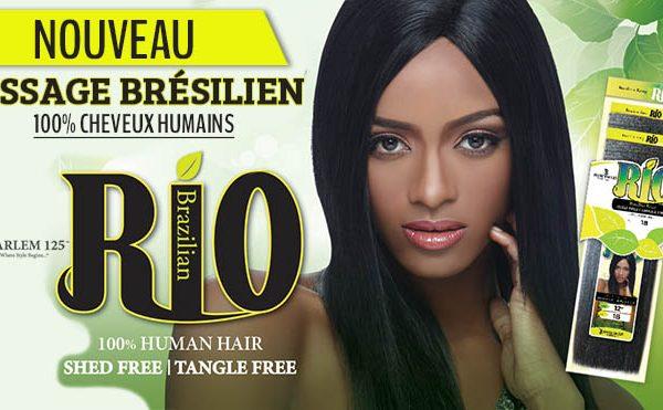 Rio cheveux 100% humains
